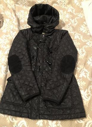 Куртка чорна демісизон new look