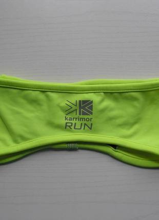 Спортивная повязка на голову karrimor x lite run headband рефлекторные элементы унисекс