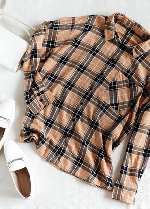 Рубашка в клетку fb sister