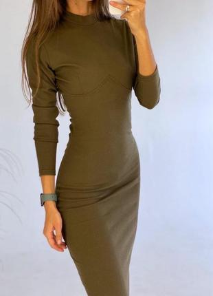 Стильне плаття , сукня миди