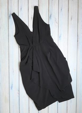 💥1+1=3 нарядное платье h&m темный шоколад, размер 42 - 44