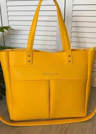 Новая вместительная яркая сумка