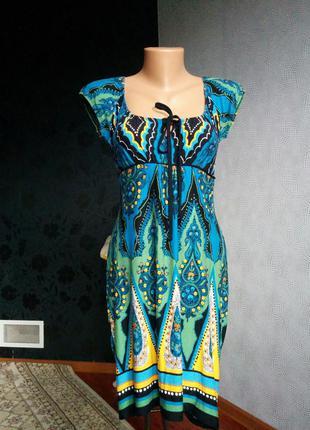 Коротке повсякденне плаття сарафан тунiка