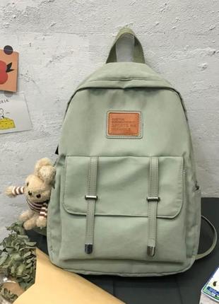 М'ятний рюкзак з брелком