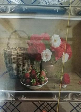Картина по номерам букет
