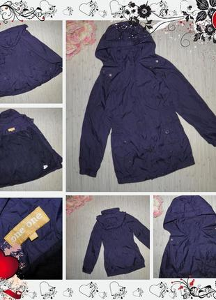 Обнова! куртка one by one от charles voegele (р.140 на 9-10років) курточка плащ ветровка