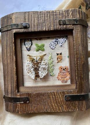 Дубовая рамка для фото, картины, вышивки