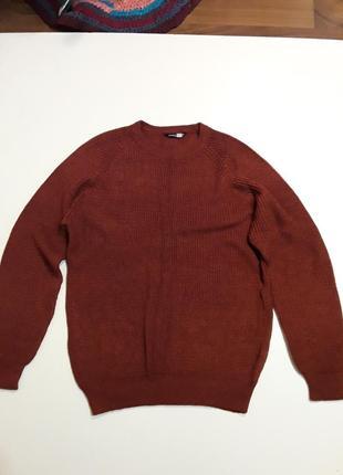 Фирменный джемпер свитер l