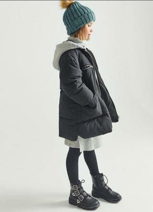 Удлиненная куртка, парка zara