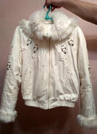 Куртка с опушкой