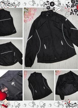 Обнова! ветровка жилет crane (р.s-m) куртка курточка безрукавка