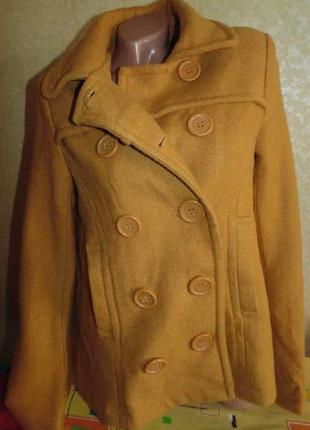 Фирменное пальто для беременных 44-46р