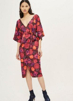"""Платье - кимоно на запах  """"topshop"""""""