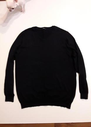 Фирменный тонкий джемпер пуловер xl