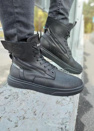 Зимние ботинки diesel 🌶❄️