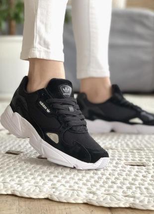 Женские кроссовки adidas черные 🔻 адидас рефлективные