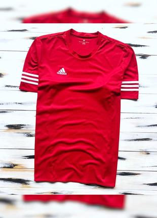 Adidas climalite спортивная футболка