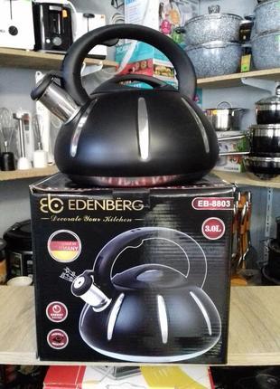 Чайник со свистком edenberg
