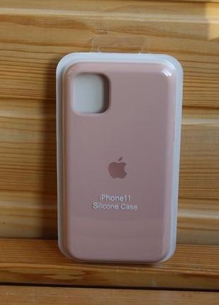 Чехол iphone 11 silicone case айфон (стекло в подарок)