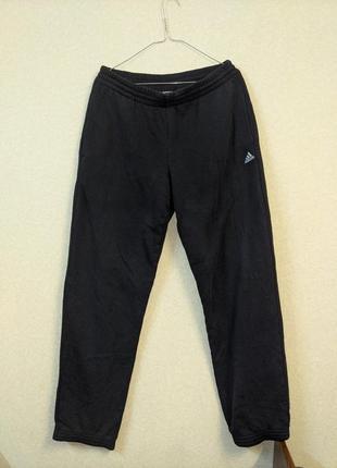 Черные спортивные брюки adidas climalitecotton оригинал!