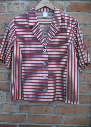 Льняная рубашка, летний пиджак, оригинал great britain.