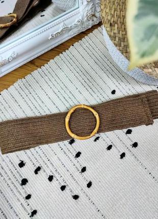 Ремень плетеный zara