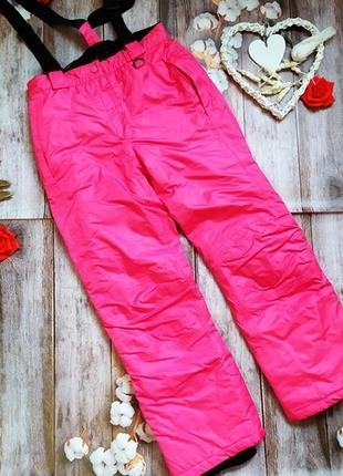 Crivit, лыжные термо штаны, брюки на рост 146-152 см