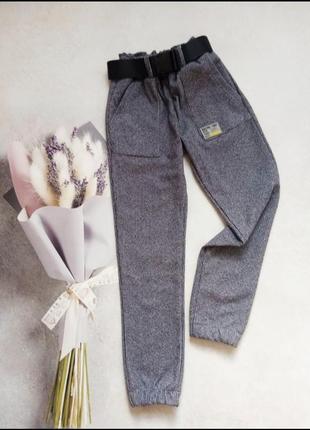 Теплые штаны для девочек 128-158