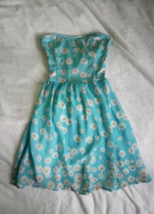 Летнее нежное платье