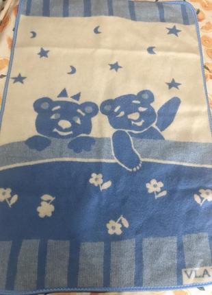 Детское шерстяное одеяло vladi