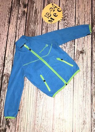 Фирменная флисовая кофта для мальчика 18-24 месяцев, 86-92 см