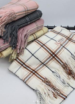 Кашемировый палантин-шарф