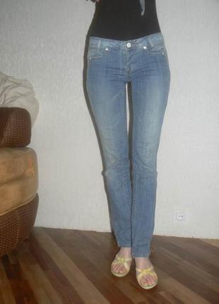 Брендовые фирменные джинсы eight sin италия! супер качество, интересный дизайн! размер 27