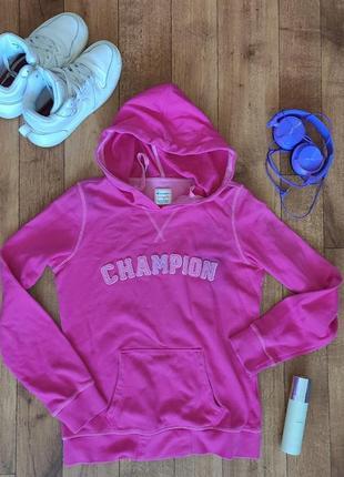 Спортивная женская толстовка, худи, розовая