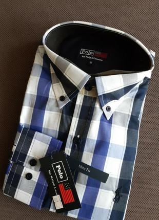 Рубашка polo by ralhp lauren m на 46-48