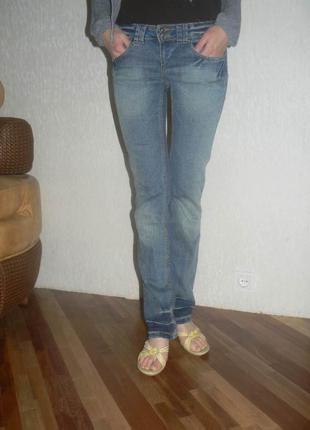 Итальянские джинсы blend оригинал фирменные брендовые женские прямые синие модные стильные