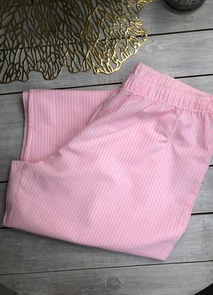 F&f хлопковые домашние штаны в полоску