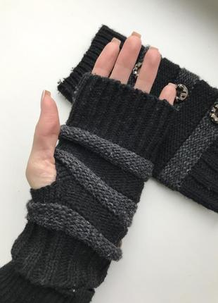 Мітенки/теплі рукавиці без пальців