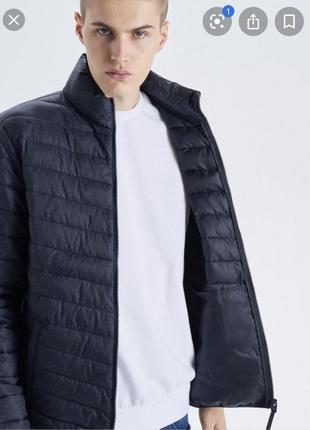 Куртка чоловіча зимова, мікропуховик, пуховик