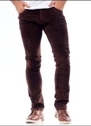 Мужские вельветовые брюки, новые, р.33, турция