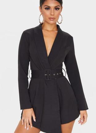 Комбинезон шортами пиджак 🔥 ромпер prettylittlething 🔥 блейзер