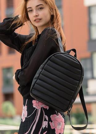 Хит продаж 2020. стильный женский черный рюкзак