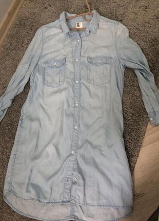 Джинсовая рубашка, джинсова сорочка