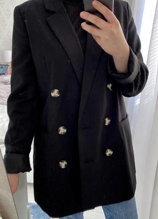 Пиджак черный {блейзер}