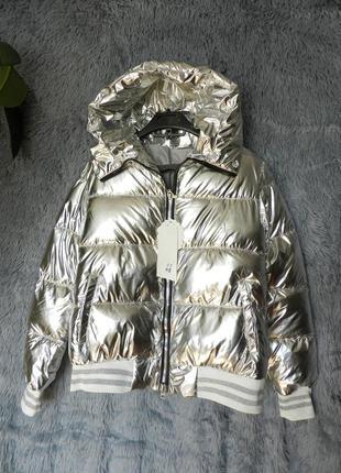 Куртка дутик зеркалка