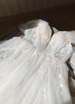 Свадебное платье 2020 dominis milla nova5 фото