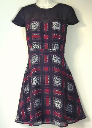 Шифоновое платье marks&spencer