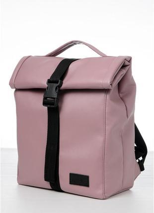 Рюкзак жіночий mini roll міський ліловий