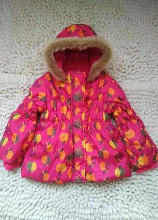 Тёплая куртка,курточка st.bernard англия  2г в идеале!!