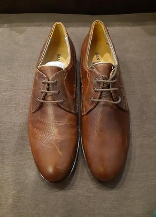 Чоловічі класичні туфлі від san marina, шкіра